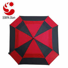 Square Golf Arc Umbrella with Foam Handle, 60
