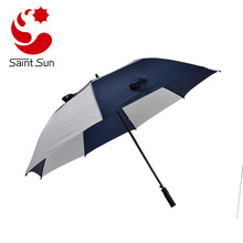 Xiamen BSCI Audit Factory Double Layer Vented Golf Umbrella