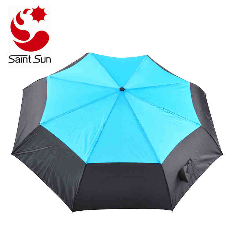 High Quality Windproof Air Vent Fold Travel Umbrella