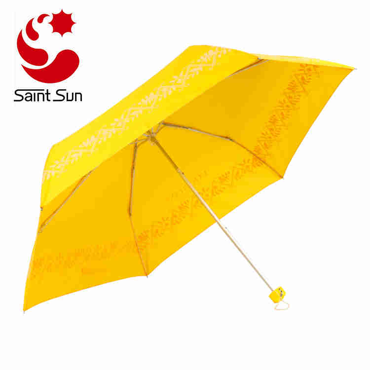 foldable umbrella 3 fold colour umbrella