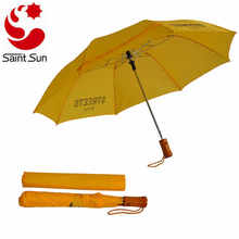 2 fold automatic standard umbrella with promotion LOGO
