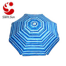 Advertising Silver Coating Tilting Mechanism Outdoor Beach Umbrella