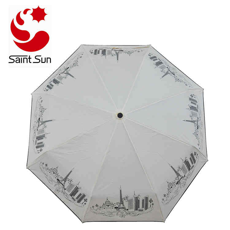 Manual Open Foldable Umbrella with Customer Logo Printing