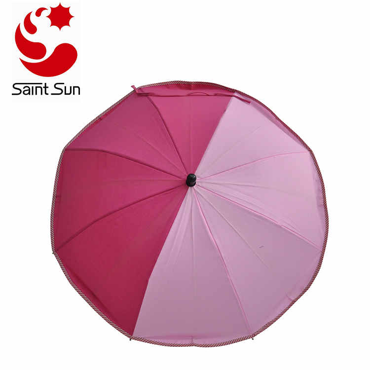 Colorful Sunshine Clip on Stand Holder Baby Stroller Umbrella 360 Degrees Adjustable
