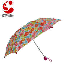 Two Section Flower Transfer - overall printing  Children Backpack umbrella Of 2018 Hot Sales
