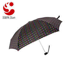 Women Mini Travel Parasol Rain Umbrella Super Mini