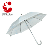 Fashion Stick Umbrella with Automatic Open Straight Umbrella