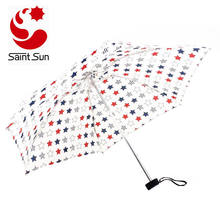 Mini Umbrella Push Button Retractable Womens Umbrella