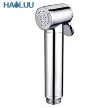 High Quality Hand held bidet shower hand shower sprayer shattaf for Bidet Toilet, Chrome bidet handheld