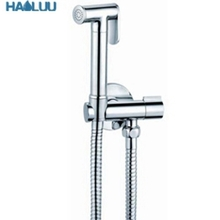 high quality brass chrome water saving bathroom toilet shattaf bidet sprayer kit bidet sprayer shattaf muslim shattaf
