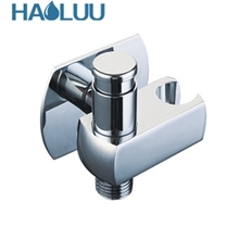 New Design China sanitary ware factory supplier Brass Bathroom toilet wash angle valve