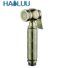 new design handheld travel portable brass toilet mounted bidet sprayer set bidet hand spray muslim shower shattaf