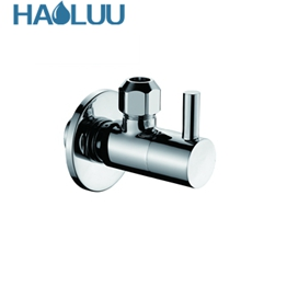 chrome angle valve three way angle valve compression angle valve wash basin angle valve