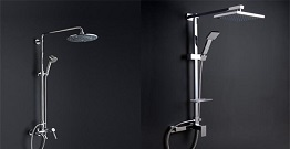 Common shower bracket type