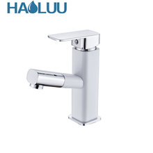 Single Tap Chrome Finish  Brass Bathroom Basin Faucet
