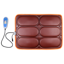 Classic massage waist support car cushion with vibration and heat function