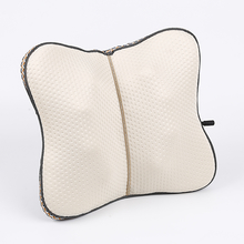 Electric body relax shiatsu foldable back support massage cushion