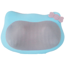 Hot sell Hello kitty style Kneading with Infrared Heat car seat massage pillow