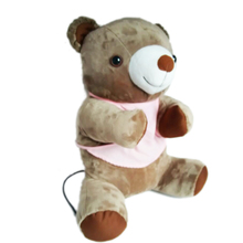 Lovely couples teddy bear toy massager