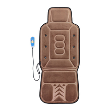 New brown Luxury medium massage car cushion