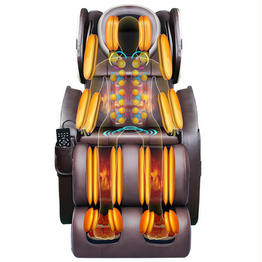 Novo design 3D Point Kneading Zero Gravity Shiatsu Massage Chair Factory Wholesale