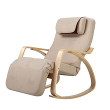 New Style Electric Leisure Massage Beach Chair With Wood Armrest Bedroom