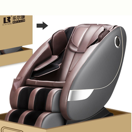 S faixa Zero Gravity Space Capsule Shiatsu Luxury Massage Chair ou Reclinação de Massagem