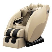 L Shape Full Back And Neck Luxury Intelligent Shiatsu Music Massage Chair