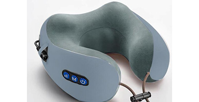We are making the new travelling massage pillow for Hongkong customer , who is engaged in Hongkong local details market