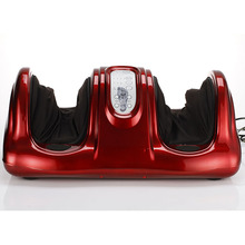 Electric roller infrared electronic shiatsu foot massager with wireless controller