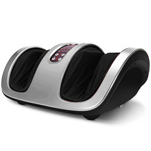 Electric roller infrared electronic shiatsu foot salon and massager with wireless controller