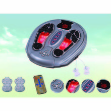 Infrared heating vibration & low frequency electric foot massager
