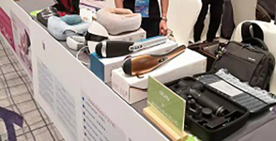Our company participated in the Shenzhen eBay global exhibition and showed some new products such as neck massager and hand massager