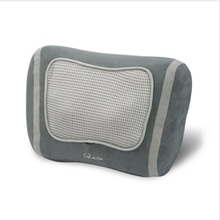 Hot Selling Kneading With Infrared Heat Car Seat Shiatsu Neck & Shoulder Flannelette Massage Pillow