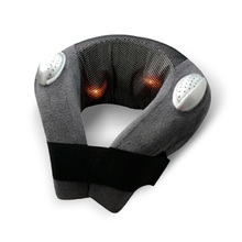 New Style Vibration & Infrared Heat Shiatsu U Shape Travelling Massage Pillow With Music Function