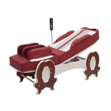 Top lever electric infrared full body massage bed