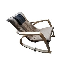 New Style Electric Leisure Wood Armrest Massage Beach Chair With Shaking function