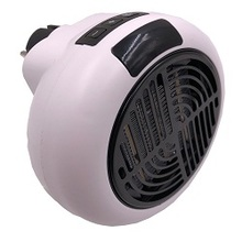 Portable Handy Mini Wind Heater Pro Wall-Outlet Digital Plug In Cross Flow Electric Heater Air Fan Warm Radiator Home Machine