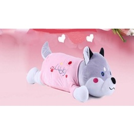 Lovely New Design Dog Appearance Shiatsu Kneading Toy Massager Back Body Massager Massage Hug Pillow