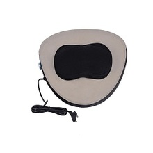 Classic Hot Sell Kneading Shiatsu With Infrared Heat Car Seat Peach Appearance Portable Massage Pillow With Adjustable Poleless Speed