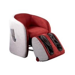 New Style Electric Leisure Shiatsu Massage Beach Chair Massage Office Chair With Foldable Foot Massager