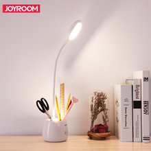 Desk Table Lamp With Organizer Pencil Holder And Touch Sensor Flexible Lamp