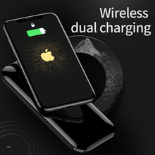 Factory Supply Custom Logo Dual Use Wireless Power Bank