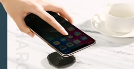 JR A20 Mini Square Wireless Charger