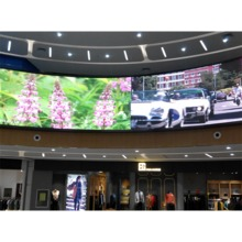 Fixed indoor small pitch Front/Rear Service LED Display