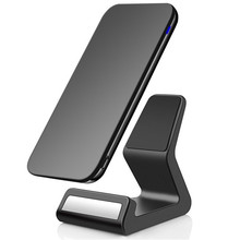 3 Coils Qi 10W Fast Wireless Charging Stand