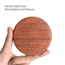 High Quality Qi Wood Wireless Charger for iPhone