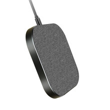 New Design Ultra Thin Aluminum Alloy 15w Mobile Phone Fast Wireless Charger
