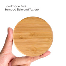 Universal Bamboo Qi Wireless Charger