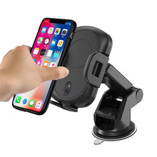Automatic Infrared Fast Wireless Car Charger